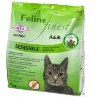 Porta 21 Feline Finest Sensible sin cereales - 10 kg