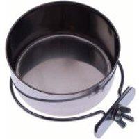 Comedero de acero para pájaros - 0,15 litros, diámetro: 7 cm
