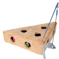 Juguete Trixie Cat´s Cheese para gatos - 36 x 19 x 31 cm