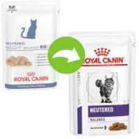 Royal Canin Neutered Weight Balance Veterinary Health Nutrition para gatos - 24 x 85 g - Pack Ahorro
