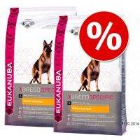 Pack Ahorro: Eukanuba Breed 2 x  7,5/12 kg - Rottweiler - 2 x 12 kg