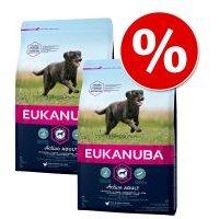 Pack Ahorro: Eukanuba 2 x 12/15 kg o 3 x 3 kg - Senior razas pequeñas y medianas, cordero (2 x 12 kg)