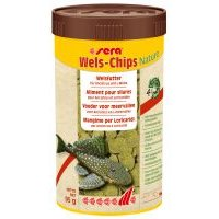 sera Wels-Chips Nature Chipsfutter - Sparpaket: 2 x 250 ml