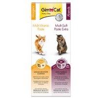 GimCat pasta Multi-Vitamina y Malt-Soft Extra - Pack combinado - 2 x 50 g