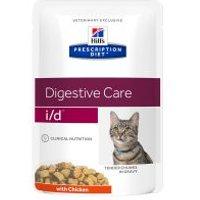 Hill's i/d Prescription Diet Digestive Care sobres para gatos - 24 x 85 g (pollo)
