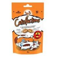 Catisfactions snacks para gatos 60 g - Pollo