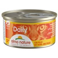 Almo Nature Daily Menu 6 x 85 g - Mousse con pavo