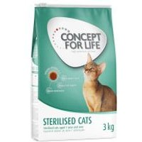 Concept for Life Sterilised Cats - Añadir 12 x 85 g Concept for Life Sterilised en salsa