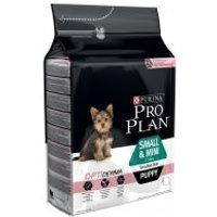 Purina Pro Plan Small & Mini Puppy OptiDerma salmón - 2 x 3 kg - Pack Ahorro
