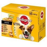 Multipack Pedigree Adult en bolsitas para perros - Adult 24 x 100 g en salsa - Pack Ahorro
