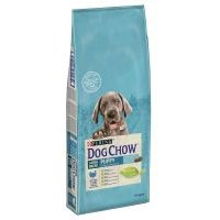 Purina Dog Chow Puppy Large Breed con pavo - 12 + 2 kg ¡gratis!