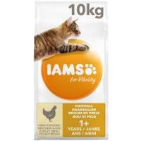 IAMS for Vitality Adult Hairball con pollo fresco - 10 kg
