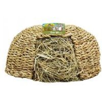 JR Farm Iglú de hierba - 2 x 310 g (mediano, 26 x 26 x 13 cm) - Pack Ahorro