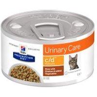 Hill's c/d Prescription Diet Urinary Care estofado con pollo para gatos - 12 x 82 g