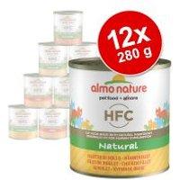 Almo Nature HFC 12 x 280 g - Pack Ahorro - Pollo y salmón al natural