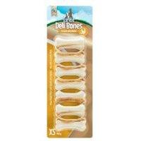 Barkoo Deli Strong Bones con pollo snacks para perros - 7 uds. de 5 cm (140 g)