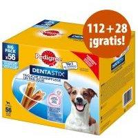 Pedigree DentaStix y DentaStix Fresh 140 uds. en oferta: 112 + 28 ¡gratis! - DentaStix Fresh perros pequeños (140 uds.)