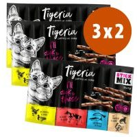Tigeria Sticks 3 x 50 g en oferta: 2 + 1 ¡gratis! - Pavo y liebre (3 x 50 g)