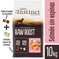 True Instinct Raw Boost con salmón - 2 x 10 kg - Pack Ahorro