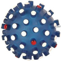 Trixie Coloured Spiky Ball - Blue: Diameter 6.5cm