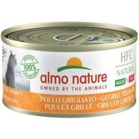 Sparpaket Almo Nature HFC Natural Made in Italy 12 x 70g - Gelbflossenthunfisch