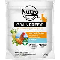 Nutro Katze Grain Free Adult Sterilized Huhn - 4 kg