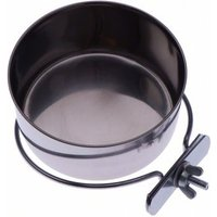 Edelstahlnapf mit Schraubbefestigung - 150 ml, Ø 7 cm