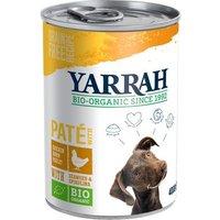 Sparpaket 12 x 400 g bzw. 405 g Yarrah Bio - Bio-Huhn & Bio-Rind mit Bio-Brennnesseln & Bio-Tomate