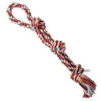 Cuerda Trixie doble multicolor para perros - 60 cm de largo