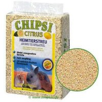 Chipsi Citrus lecho de limón para roedores - 3,2 kg (aprox. 60 litros)