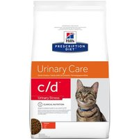 Hill's Prescription Diet c/d Urinary Stress Urinary Care Katzenfutter mit Huhn - Sparpaket: 2 x 8 kg