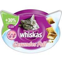 Whiskas Healthy Coat snacks para gatos - 72 g