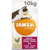 IAMS for Vitality Ältere Katzen mit Frischem Huhn - 10 kg