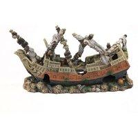 Aquatlantis Aquariendeko römisches Schiff - 1 Stück