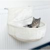 Sacco per radiatori in peluche Trixie bianco
