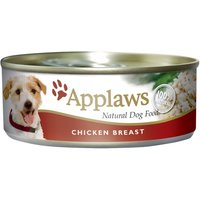 Applaws Dog Food in Broth Saver Pack 24 x 156g - Chicken with Salmon & Vegetables