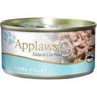 156g Applaws Wet Cat Food - 10 + 2 Free!* - Tuna Fillet (12 x 156g)