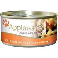 Applaws 6 x 70 g - poulet, potiron