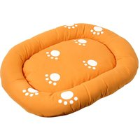 Smilla Cat Bed - Orange - 45 x 35 cm (L x W)