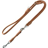 Hunter Round & Soft Dog Lead - Cognac - 200cm
