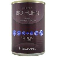 Herrmanns Menu 6 x 400 g - dinde bio, riz, légumes