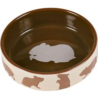 Trixie Ceramic Food Bowl for Small Pets - Guinea Pig 250ml / 11cm Diameter