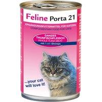Lot 4 saveurs Feline Porta 21 24 x 400 g - lot 4 saveurs