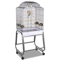 Montana Bird Cage Memphis I - Platinum: 56 x 43 x 140 cm (L x W x H) (2 parcels*)