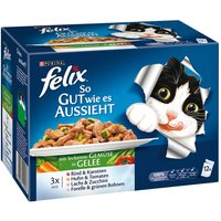 Felix As Good As It Looks 12 x 100g - Meat Menus in Jelly