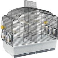 Ferplast Canto Bird Cage - Black: 71 x 38 x 60.5 cm (L x W x H)