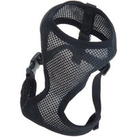 Soft Dog Harness - Black - Size XS