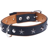 Heim Leather Dog Collar - Stars - Size 40