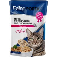 Feline Porta 21 Pouches 6 x 100g - Pure Chicken