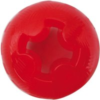 Mighty Mutts Tough Dog Toys Rubber Ball - Size M: Diameter 8cm